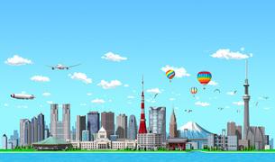 東京ランドマーク01のイラスト素材 [FYI04745798]