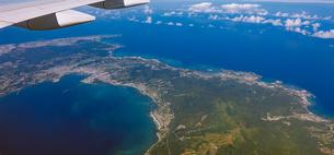 沖縄本島中部の空撮の写真素材 [FYI04745992]