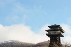 護摩壇山スカイタワーの写真素材 [FYI04746235]