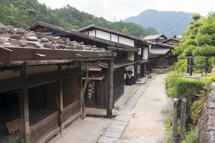 中山道 妻籠宿の写真素材 [FYI04746245]