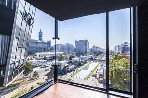 名古屋テレビ塔より見る久屋大通公園風景の写真素材 [FYI04746792]