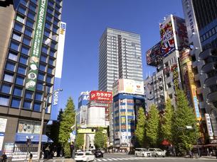 東京都 秋葉原電気街の写真素材 [FYI04747069]