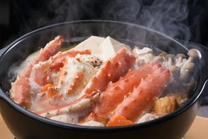 タラバ蟹の鍋の写真素材 [FYI04747102]