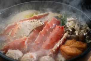 タラバ蟹の鍋の写真素材 [FYI04747104]