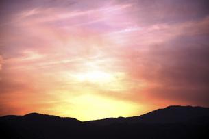 夕焼け空の写真素材 [FYI04747456]