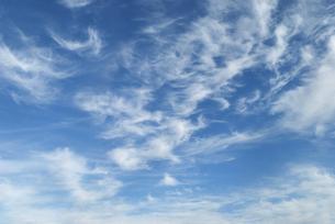 青空と雲の写真素材 [FYI04747457]