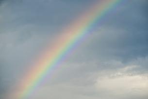 空にかかる虹の写真素材 [FYI04747468]