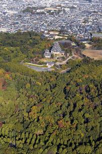空撮 伏見桃山城の写真素材 [FYI04747865]