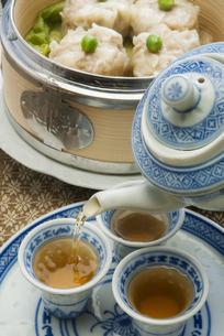 シュウマイ飲茶の写真素材 [FYI04747988]
