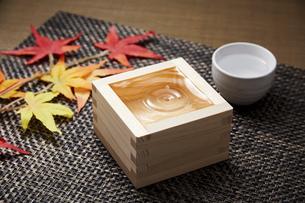 日本酒の写真素材 [FYI04749205]