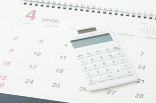 カレンダーの写真素材 [FYI04749647]