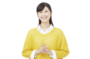 日本人女性の写真素材 [FYI04749781]