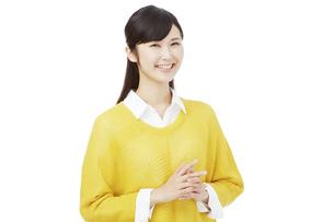 日本人女性の写真素材 [FYI04749782]