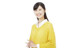 日本人女性の写真素材 [FYI04749787]
