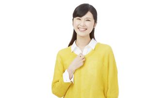 日本人女性の写真素材 [FYI04749788]