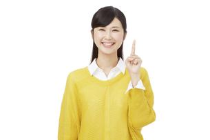 日本人女性の写真素材 [FYI04749861]