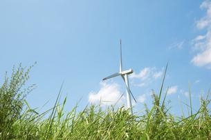 風力発電の写真素材 [FYI04749999]