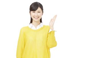 日本人女性の写真素材 [FYI04750023]