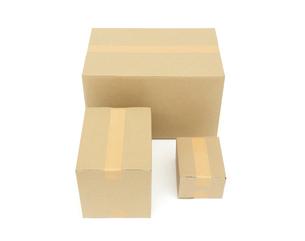 段ボール箱の写真素材 [FYI04750918]