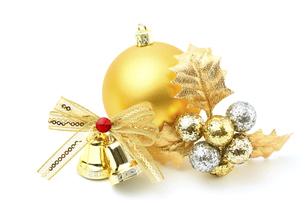 クリスマスオーナメントの写真素材 [FYI04751407]