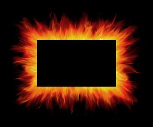 炎の写真素材 [FYI04752171]