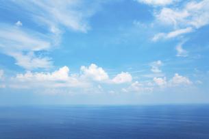 水平線の写真素材 [FYI04752247]