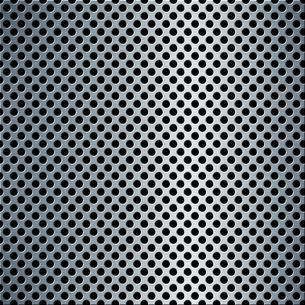 パンチメタルのバックグラウンドの写真素材 [FYI04753245]