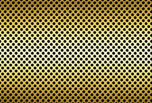パンチメタルのバックグラウンドの写真素材 [FYI04753259]