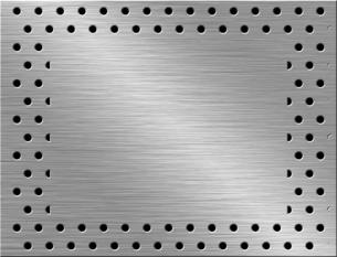 パンチメタルのバックグラウンドの写真素材 [FYI04753265]