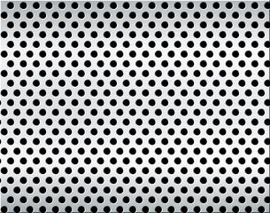 パンチメタルのバックグラウンドの写真素材 [FYI04753336]