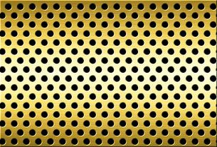 パンチメタルのバックグラウンドの写真素材 [FYI04753338]