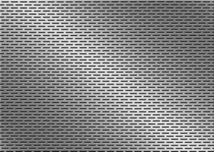 パンチメタルのバックグラウンドの写真素材 [FYI04753348]