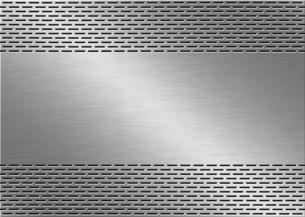 パンチメタルのバックグラウンドの写真素材 [FYI04753350]