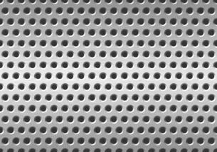 パンチメタルのバックグラウンドの写真素材 [FYI04753425]