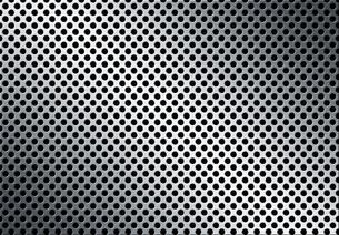 パンチメタルのバックグラウンドの写真素材 [FYI04753451]