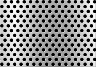 パンチメタルのバックグラウンドの写真素材 [FYI04753560]