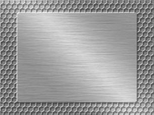パンチメタルのバックグラウンドの写真素材 [FYI04753580]
