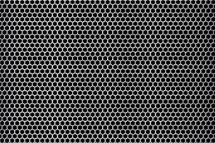 パンチメタルのバックグラウンドの写真素材 [FYI04753582]