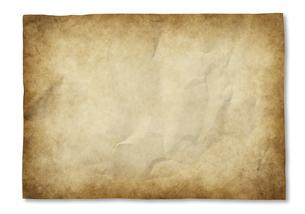 羊皮紙のバックグラウンドの写真素材 [FYI04753602]