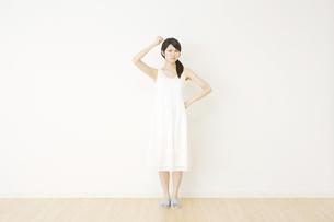 日本人女性の写真素材 [FYI04754627]