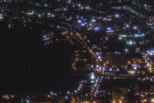 函館山からの夜景の写真素材 [FYI04755042]