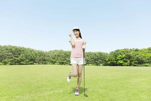 ゴルフの写真素材 [FYI04755996]