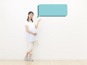 妊婦の写真素材 [FYI04756301]