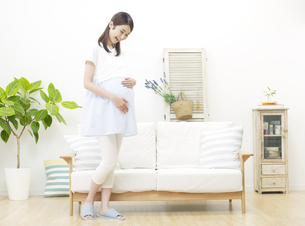 妊婦の写真素材 [FYI04756484]