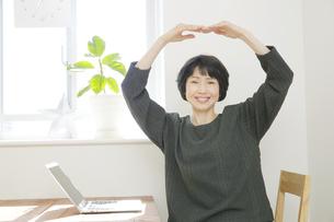 日本人女性の写真素材 [FYI04757682]