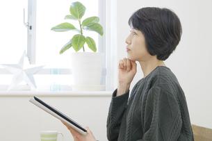 日本人女性の写真素材 [FYI04757802]