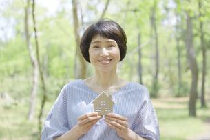 日本人女性の写真素材 [FYI04758173]