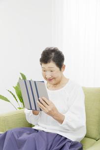 日本人シニア女性の写真素材 [FYI04758801]