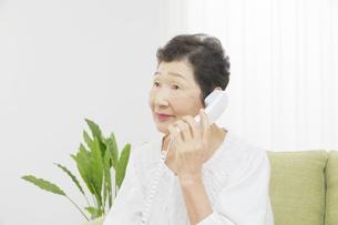 日本人シニア女性の写真素材 [FYI04758819]