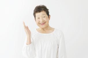 日本人シニア女性の写真素材 [FYI04758868]